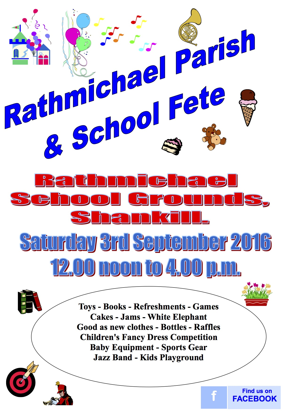 Rathmichael Parish & School Fete
